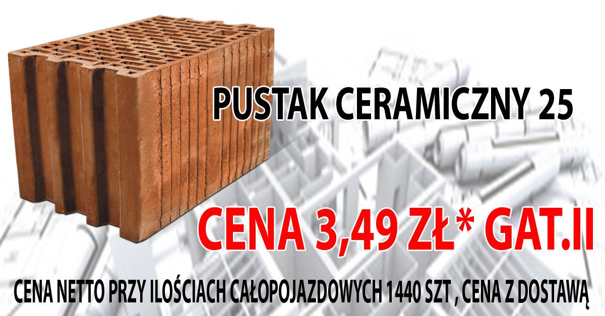 Pustak Ceramiczny 25 Gatunek II